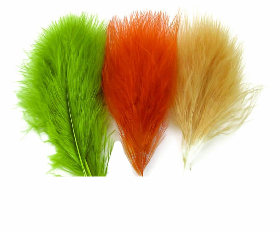 Big single marabou Feathers