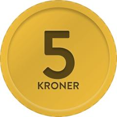 Alt 5,- kr.