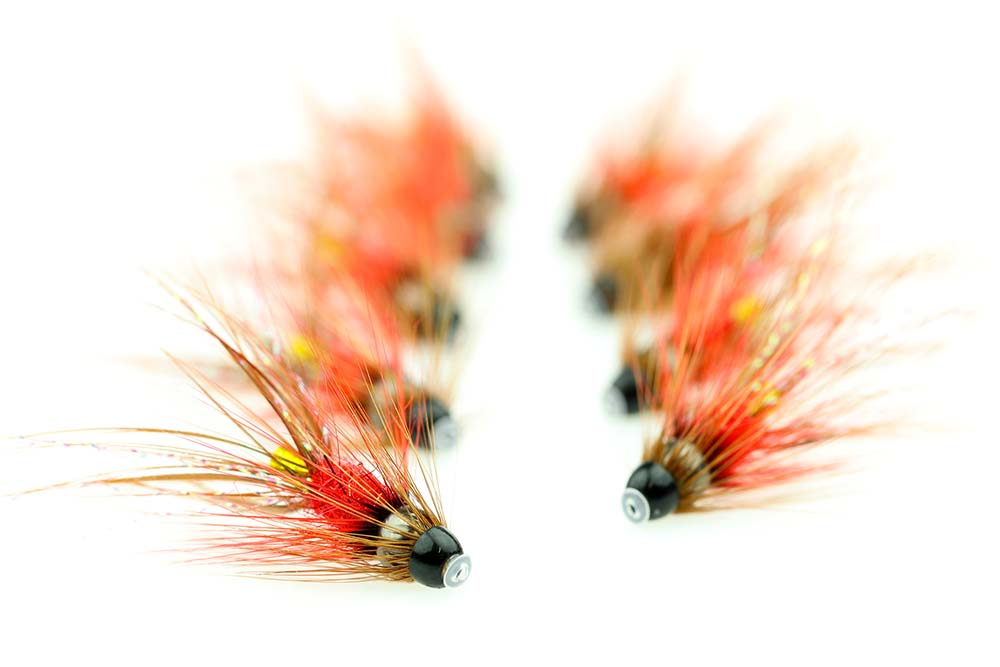 Seatrout and salmon flies