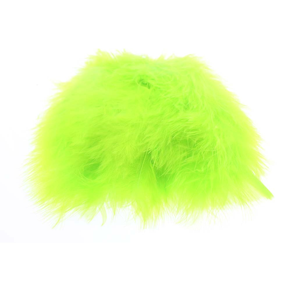 Wolly Bugger Marabou - Flourescrent Chartreuse