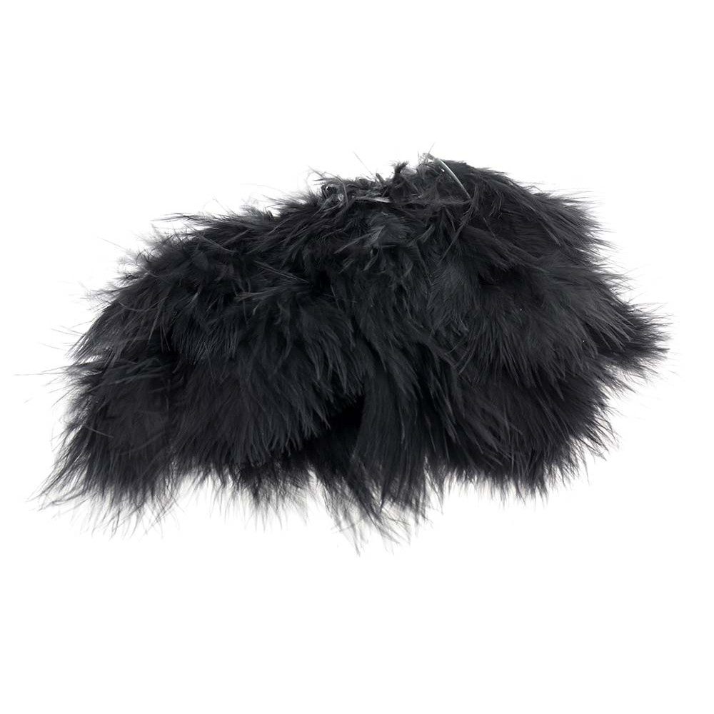 Wolly Bugger Marabou - Sort