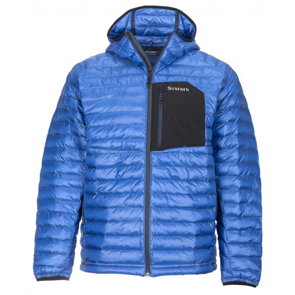 Simms ExStream Hooded Jacket - Rich Blue