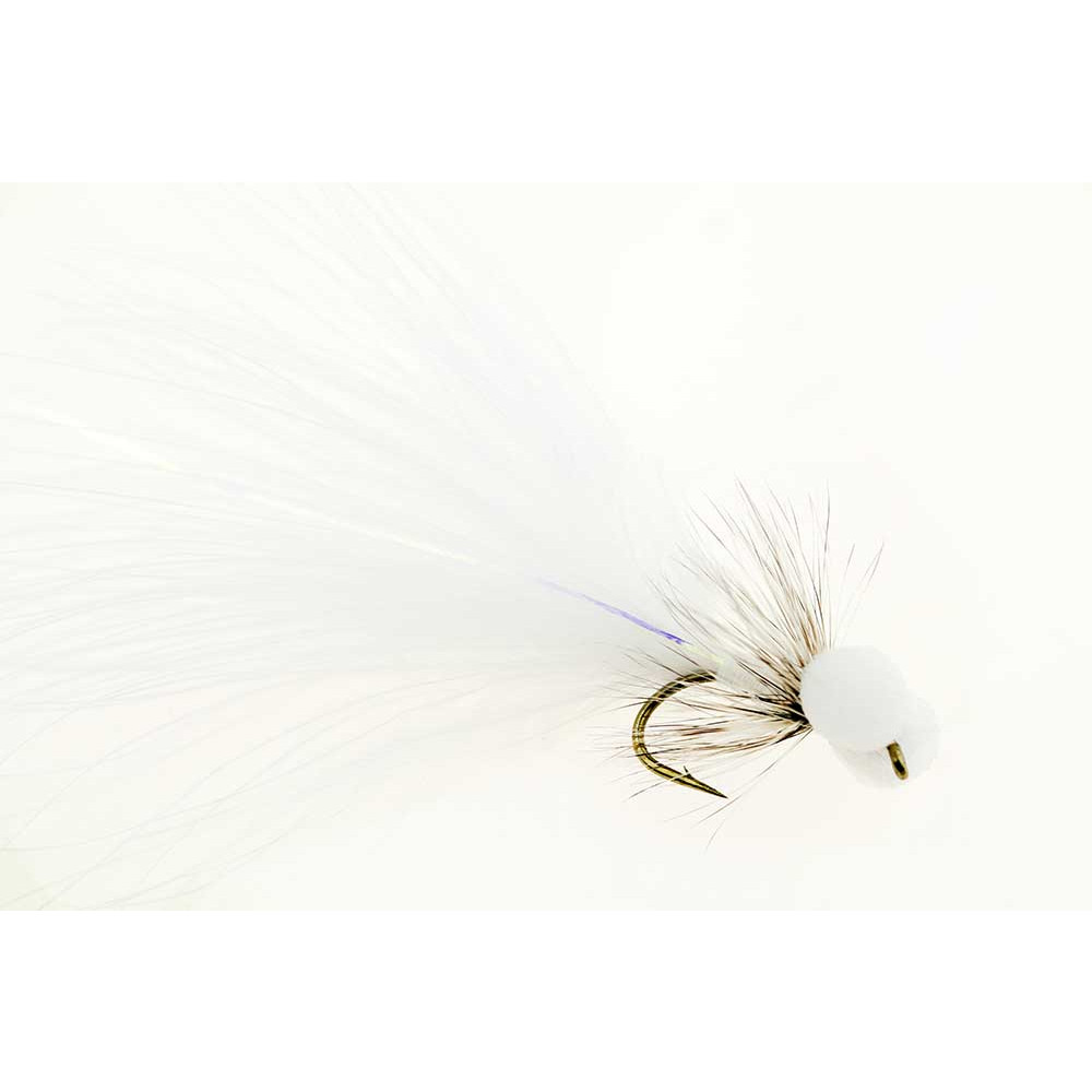 Booby fly - white size 6