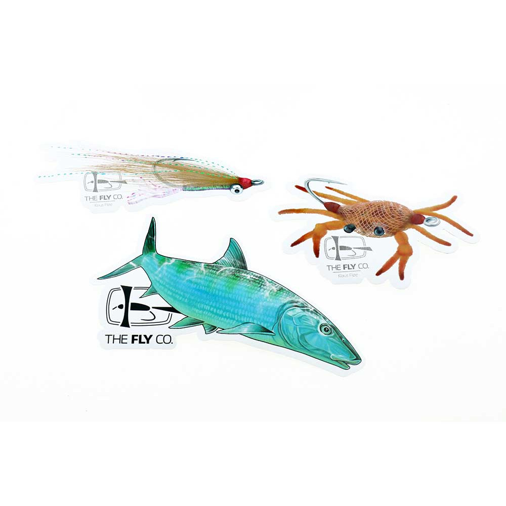 Flyco Sticker Pack - Bonefish