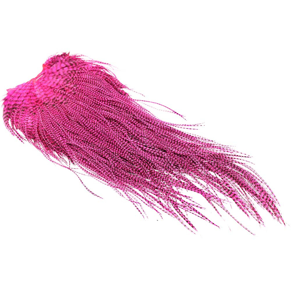 1/1 Keough Grade 2 Saddle - Grizzly Hot pink