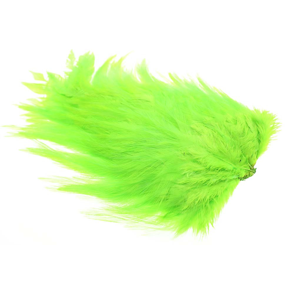Whiting Rooster saddle - Fluo Green Chartreuse