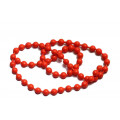 Chainbead Eyes Fl. Red - (M)
