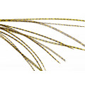 10+ Selected Flatwing/dryfly Feathers - Grizzly Golden Olive