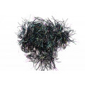 "Flex Hackle 1 1/4"" - Black"