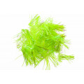 "Flex Hackle 1 1/4"" - Chartreuse"