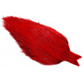 Whiting Coq De Leon Cape - Badger dyed Red