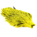 Whiting Freshwater Streamer Cape - Silver badger/Yellow