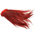 Whiting Euro Hackle sadel - Grizzly Red