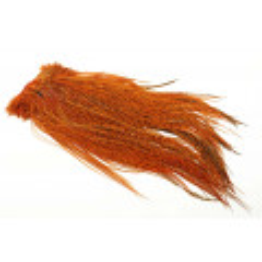 Whiting Euro Hackle sadel - Grizzly Burnt Orange