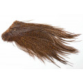Whiting Euro Hackle sadel - Grizzly Brown