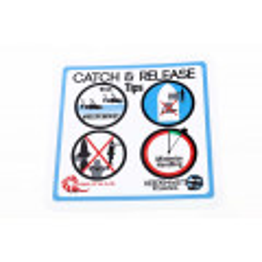 Nautilus Sticker/klistermærke - catch & release