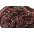 Crystal Antron Chenille (S) - Choc. Brown