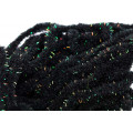 Crystal Antron Chenille - Black
