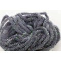 Crystal Antron Chenille - Grey