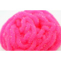 Crystal Antron Chenille Fluo. Pink - (M)