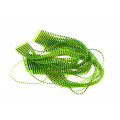 Micro Barred Grizzly Legs - Black/Chartreuse