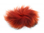 Arctic Fox tail piece - Fiery Brown