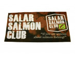 Brown Salar Salmon Club Neck Tube