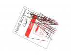 Hand Stripped Quill - Red