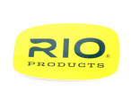 Rio Sticker - Big oval Yellow/green tekst 18 x 11 cm.