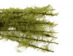 Dubbing Brush Ice Dub Sparkle Marabou - Olive