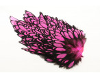 Whiting American Hen Saddle Black Laced - Pink