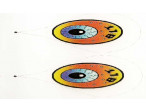 Andy Weiss angry bird eyes - Grey pupil