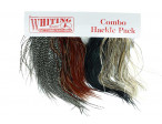 Whiting Introductory Hackle Pack Four 1/2 Saddles