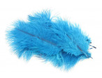 Micro Ostrich Spey Plumes - Kingfisher Blue