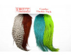 Starter Pack Whiting Coq de leon - Chartreuse/Brown/Grizzly/Kingfisher