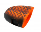 Double barrel popper popper - Custom Black/Orange ( 1 STK)