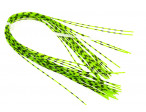 Grizzly Barred Round Rubberlegs - Neon Green
