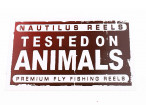 Nautilus Sticker/klistermærke - Tested (red, Small)