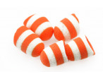 Foam Popper - White/Orange