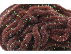 Crystal Antron Chenille Choc. Brown - (S)
