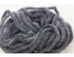 Crystal Antron Chenille Grey - (S)