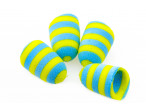 Foam Popper - Yellow/Blue
