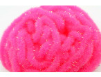 Crystal Antron Chenille Fluo. Pink - (S)
