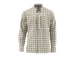 Simms BugStopper Shirt Plaid - Cork Plaid