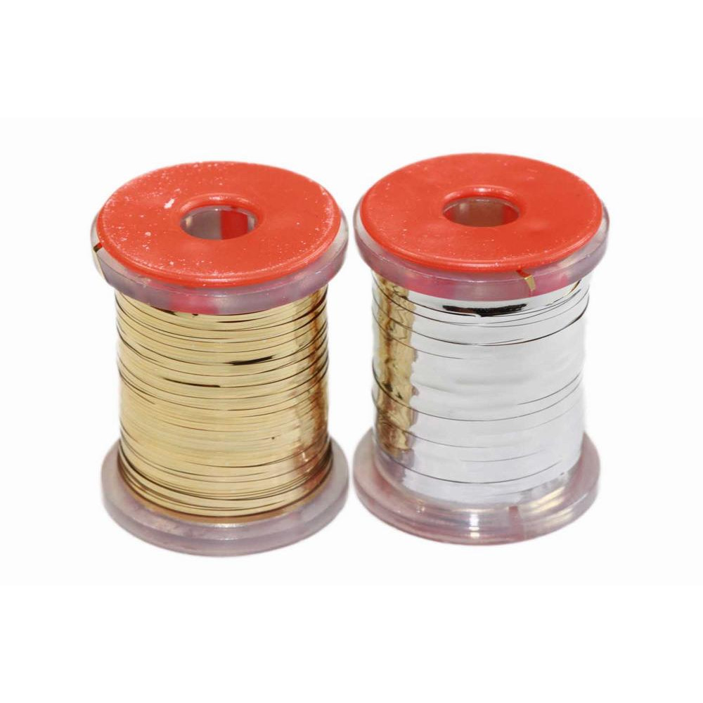 Flat tinsel - Gold and silver