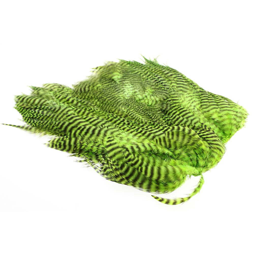 Soft Hen Patch - Grizzly Chartreuse
