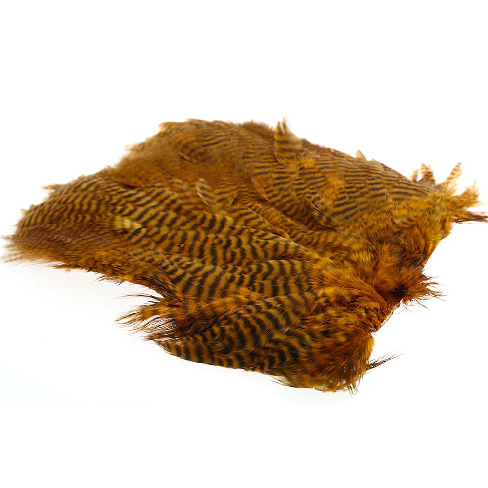 Soft Hen Patch - Grizzly golden brown