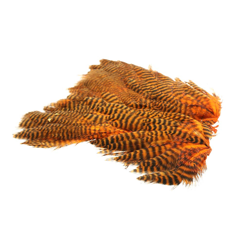 Soft Hen Patch - Grizzly hot orange