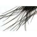 Loose pike saddle feathers: Grizzly