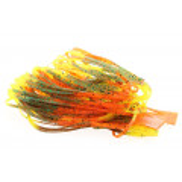 Magnum Predator Rubber Legs - Orange/Pumpkin/Yellow